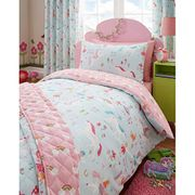 Unicorn Single Bed Duvet Cover and Pillowcase.