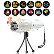 Birthday, Easter, Halloween LED Musical Projector