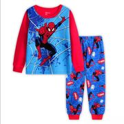 2-7Y Kids Boy Superhero Pyjamas