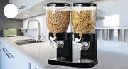Single or Double Cereal Dispenser - 2 Colours