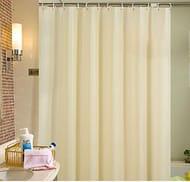 Shower Curtain PEVA Waterproof Mildew Resistant Bathroom Curtain