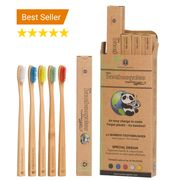 GRAB WHILE U CAN -Free Bamboo Cotton Buds+83% OFF Bamboo Toothbrush 5 Pk*BARGAIN
