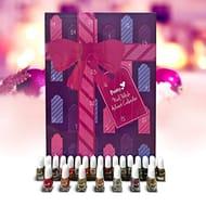 24 X 2ml Bottles of Nail Polish Advent Calendar