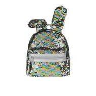 Monsoon Girls Rainbow Bunny Sequin Backpack