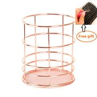Makeup Brush Vase Pot Pen Holder Stationery Storage Organizer Container