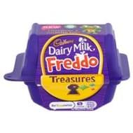 Cadbury Dairy Milk Freddo Treasures Chocolate with Toy 85p Each or 3 for £2