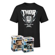 Mighty Thor Bundle T-Shirt & 2 Pop! Vinyl for Just £14.99!