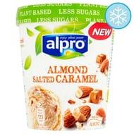 Alpro Ice Cream Almond Salted Caramel 500Ml [vegan]