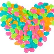 1Bag Garden Pebbles Glow Stones Rocks