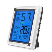 Temperature Humidity Monitor Weather Clock