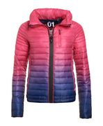 Womens Superdry Power Fade Jacket Ink