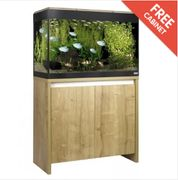 Fluval Roma 125 Aquarium Set and Cabinet - Oak Only £294.99