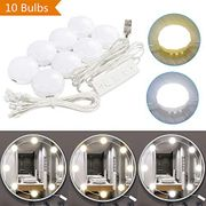 LED Vanity Mirror Lights Kit, Makeup Mirror Light 10 Ledbulbs