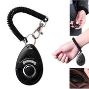 Pet Clicker Trainer Teaching Tool with Wrist Strap