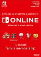 Nintendo Switch Online Family Membership 12 Month