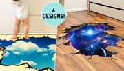 3D Home Decal Stickers - 4 Designs!