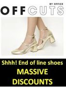 MASSIVE DISCOUNTS on SHOES at Office Offcuts! From £5