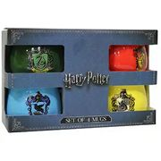 Harry Potter House Crests 4 Mug Gift Set - Half Price with Code!