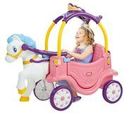 Amazon Little Tykes Horse and Carriage
