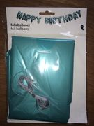 Self Inflating HAPPY BIRTHDAY Balloon Banner