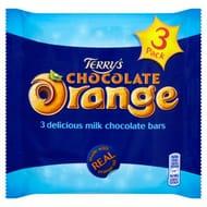 Terry's Chocolate Orange Bars 3 Pack
