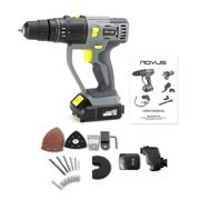 Rovus Rocket Fix 27 Piece, All-in-One Cordless and Compact Power Tool