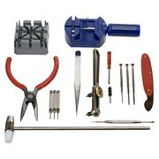 16 Piece Deluxe Watch Tool Kit - Free P&P