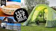 Get 15% off at OLPRO Today on Tents, Melamine, Camping Accessories, and More.
