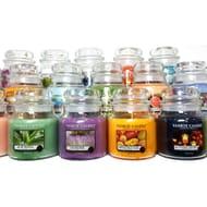 Big Discount - 6 X Yankee Candle Assorted Medium Jars