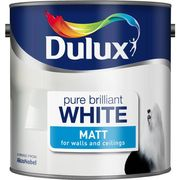 Dulux Pure Brilliant White Matt/Silk Emulsion 2.5lt