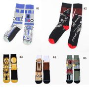 One Pair of Starwars Themed Socks - Non Official - 5 Designs to Choose From