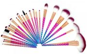 Unicorn Make up Brush Set - 24 Piece
