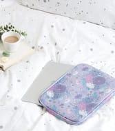 Lilac Floral 13'' Laptop Case