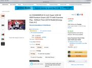 "55"" LG TV £900 Off"