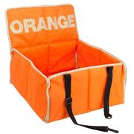 Pet Travel Car Seat Protector & Carrier Orange 49 X 46 X 24cm