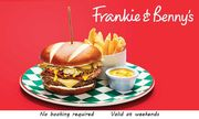 2 Course a La Carte Meal for Two for £19.99 at Frankie & Benny's