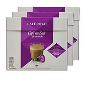Caf Royal Caf Au Lait Coffee Pods, 158 G, Pack of 3, 48-Count