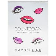 Maybelline Countdown Advent Calendar -Save £4