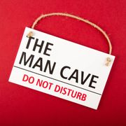 Man Cave Room Sign For £3