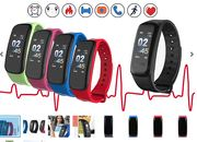 12-in-1 Smartwatch with Heart Rate Monitor - 5 Colours