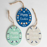 Happy Easter Hanging Egg Decoration