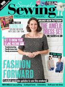 Up to 20% off RRP on Simply Sewing Magazine Subscriptions at BBC Magazines