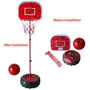 Basketball Hoop Stand with Back Board and Basketball - 57% Off with Code