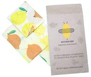 X10 SINGLE USE COUPONS - Beeswax Wraps (£2.89 Off) at Amazon (See Description)