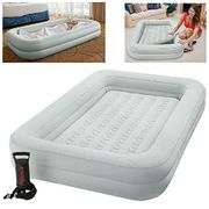 Intex Kidz Travel Cot Bed Inflatable Mattress Air Bed with Pump
