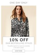 LAST CHANCE! 10% off Our Bestsellers
