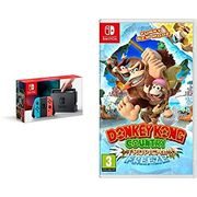 Nintendo Switch Neon with Donkey Kong Country: Tropical Freeze Only £318.99