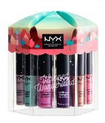 NYX Whipped Wonderland Soft Matte Metallic Lip Cream Vault - Save £9