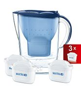 BRITA Marella Cool Water Filter Jug and Maxtra+ Cartridges Starter Pack