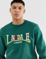 Lonsdale Boxy Sweatshirt at ASOS